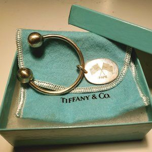 Tiffany & Co. Sterling Silver Keychain Charm
